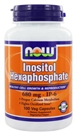 Image of NOW Foods - Inositol Hexaphosphate 800 mg. - 100 Vegetarian Capsules