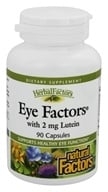 Natural Factors - Eye Factors with Lutein 2 mg. - 90 Capsules - $8.97