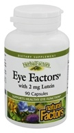 Image of Natural Factors - Eye Factors with Lutein 2 mg. - 90 Capsules