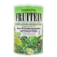 Nature's Plus - Vegetarian Fruitein Revitalizing Green Foods Shake Gluten-Free - 1.3 lbs. - $25.87