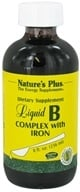 Nature's Plus - Liquid B-Complex W/Iron - 8 oz.