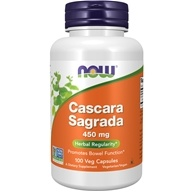 NOW Foods - Cascara Sagrada 450 mg. - 100 Capsules