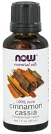 Image of NOW Foods - Cassia Oil - 1 oz.
