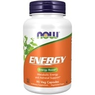 NOW Foods - Energy - 90 Capsules (733739033260)