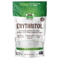 Image of NOW Foods - Erythritol Natural Sweetener - 1 lb.