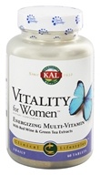 Kal - Vitality For Women - 60 Tablets (021245945710)