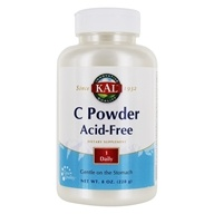 Kal - Vitamin C Powder Acid-Free - 8 oz.