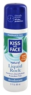 Kiss My Face - Liquid Rock Roll-On Deodorant Fragrance Free - 3 oz. LUCKY PRICE