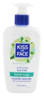 Kiss My Face - Liquid Moisture Hand Soap GermsAside Tea Tree - 9 oz.