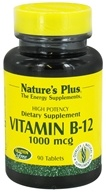 Nature's Plus - Vitamin B-12 1000 mcg. - 90 Tablets by Nature's Plus