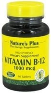 Nature's Plus - Vitamin B-12 1000 mcg. - 90 Tablets, from category: Vitamins & Minerals