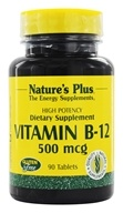 Image of Nature's Plus - Vitamin B-12 500 mcg. - 90 Tablets