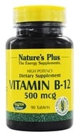 Nature's Plus - Vitamin B-12 500 mcg. - 90 Tablets by Nature's Plus