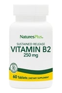 Natures Plus - Vitamin B2 Sustained Release 250 mg. - 60 Tablets