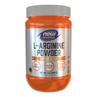 NOW Foods - L-Arginine Powder - 1 lb.