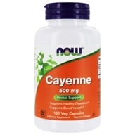 NOW Foods - Cayenne 500 mg. - 100 Capsules