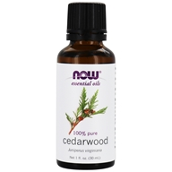 NOW Foods - Cedarwood Oil - 1 oz.