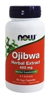 Image of NOW Foods - Ojibwa Herbal Extract 450 mg. - 90 Vegetarian Capsules formerly Esiak
