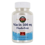 Image of Kal - Niacin Flush-Free 500 mg. - 120 Vegetarian Capsules
