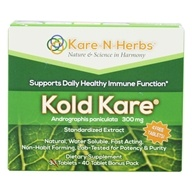 Kare-N-Herbs - Kold Kare - 40 Tablets, from category: Homeopathy