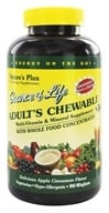 Nature's Plus - Source Of Life Adult's Chewable Apple Cinnamon - 90 Wafers, from category: Vitamins & Minerals