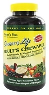 Image of Nature's Plus - Source Of Life Adult's Chewable Apple Cinnamon - 90 Wafers