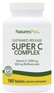 Nature's Plus - Super C Complex Sustained Release 1000 mg. - 180 Tablets by Nature's Plus
