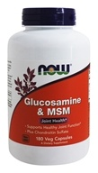 NOW Foods - Glucosamine and MSM 750/250Mg - 180 Capsules by NOW Foods