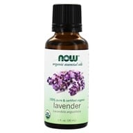 Image of NOW Foods - Lavender Oil Organic - 1 oz.