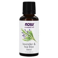 NOW Foods - Lavender-Tea Tree Oil - 1 oz. (733739077288)