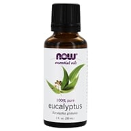 NOW Foods - Eucalyptus Oil - 1 oz. (733739075451)
