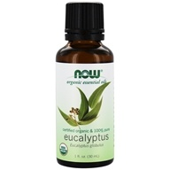 Image of NOW Foods - Eucalyptus Oil Organic - 1 oz.
