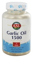 Image of Kal - Garlic Oil 1500 - 250 Softgels