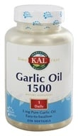 Kal - Garlic Oil 1500 - 250 Softgels