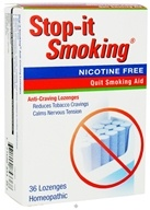NatraBio - Stop-It Smoking Lozenges - 36 Lozenges CLEARANCE PRICED