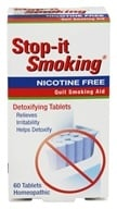 NatraBio - Stop-It Smoking Quit Smoking Aid - 60 Tablets, from category: Homeopathy