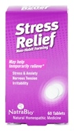 NatraBio - Stress Relief - 60 Tablets, from category: Homeopathy