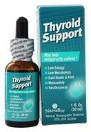 NatraBio - Thyroid Support - 1 oz., from category: Homeopathy