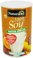 Naturade - 100% Soy Protein Booster Natural Flavor - 29.6 oz. (079911027086)