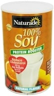 Naturade - 100% Soy Protein Booster Natural Flavor - 29.6 oz. by Naturade