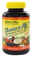Nature's Plus - Source Of Life Multi-Vitamin & Mineral Supplement With Whole Food Concentrates - 180 Vegetarian Capsules (097467305939)