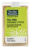 Thursday Plantation - The Original Australian Tea Tree Chewing Sticks - 100 Stick(s) (097467067004)