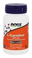 NOW Foods - L-Carnitine 500 mg. - 30 Capsules by NOW Foods