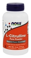 NOW Foods - L-Citrulline Pure Powder - 4 oz., from category: Nutritional Supplements
