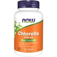 NOW Foods - Chlorella 1000 mg. - 120 Tablets (733739026323)