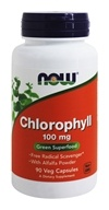 Image of NOW Foods - Chlorophyll - 90 Capsules