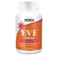 NOW Foods - Eve Women's Multiple Vitamin - 180 Tablets, from category: Vitamins & Minerals