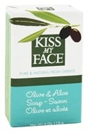 Kiss My Face - Bar Soap Olive & Aloe - 4 oz. (028367827573)