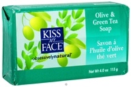 Kiss My Face - Bar Soap Olive & Green Tea - 4 oz. (028367833499)