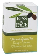 Kiss My Face - Bar Soap Olive & Green Tea - 8 oz. (028367833482)
